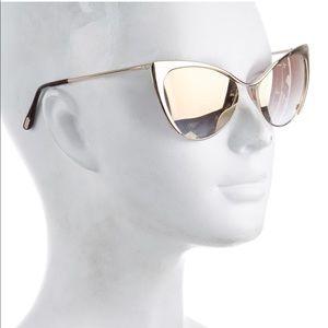 Tom Ford Nastasya cat-eye sunglasses
